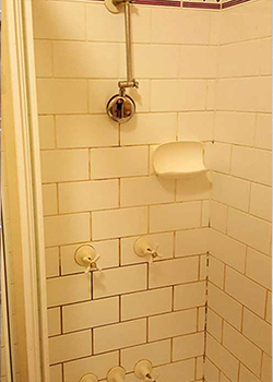 shower repair gallery - before and after The Shower Dr